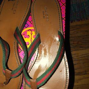 Gucci sandals women's 8